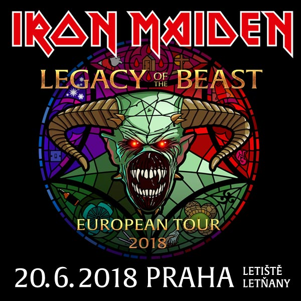 IRON MAIDEN Prague
