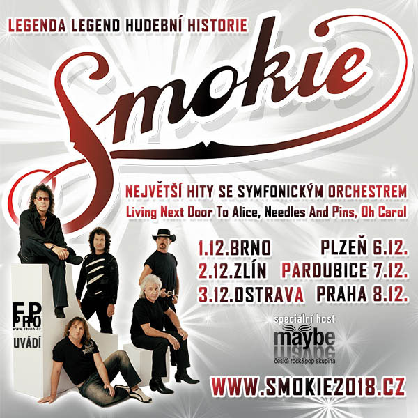 SMOKIE THE SYMPHONY TOUR