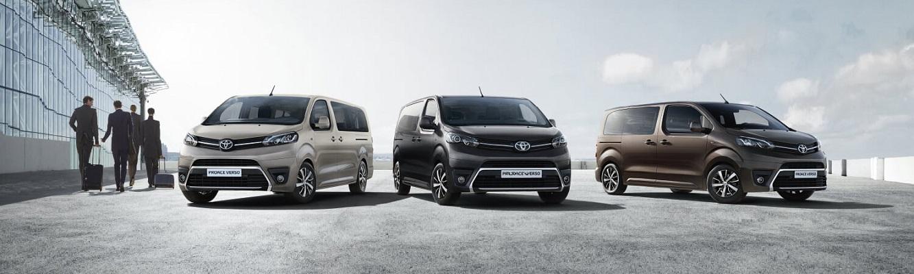 New 9-seats minivan Toyota Proace
